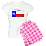 Texas Texan State Flag Women's Light Pajamas