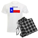 Texas Texan State Flag Men's Light Pajamas