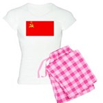 USSR Blank Flag Women's Light Pajamas