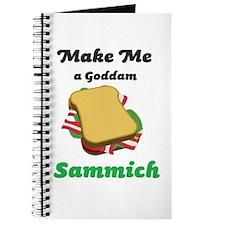 Goddam Sammich Journal