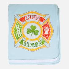 Irish Brigade baby blanket