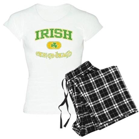 Irish Erin Go Bragh Women's Light Pajamas