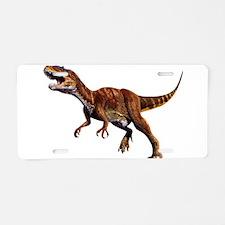 Allosaurus Jurassic Dinosaur Aluminum License Plat