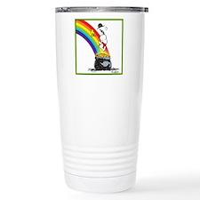 Pot O' Gold Stainless Steel Travel Mug