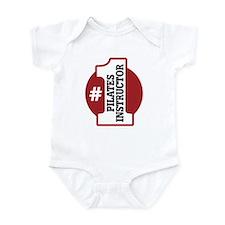 #1 Pilates Instructor Infant Bodysuit