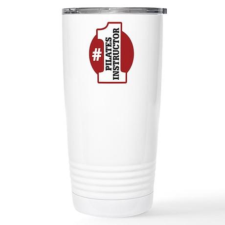 #1 Pilates Instructor Stainless Steel Travel Mug