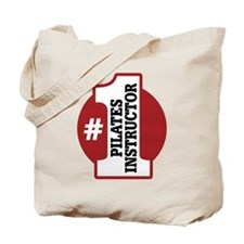 #1 Pilates Instructor Tote Bag