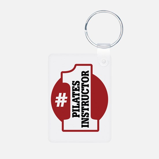 #1 Pilates Instructor Keychains
