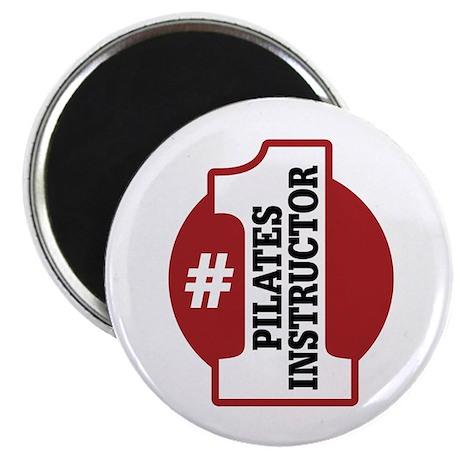 "#1 Pilates Instructor 2.25"" Magnet (100 pack)"