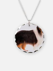 Black Rough Collie Necklace