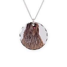 Bergamasco Sheepdog Sitting Necklace