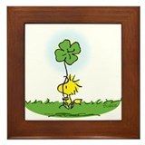 Snoopy store Framed Tiles