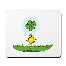 Woodstock Shamrock Mousepad