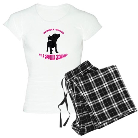 Owned By A Chihuahua Women's Light Pajamas