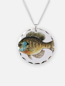 Bluegill Bream Fishing Necklace