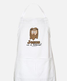 Jesus is a liberal -  BBQ Apron