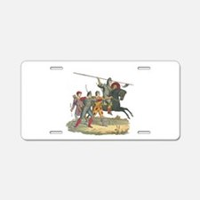 Norman Knight & Archers Aluminum License Plate