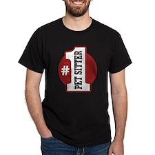 #1 Pet Sitter T-Shirt