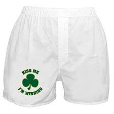 Kiss Me I'm Winning Boxer Shorts