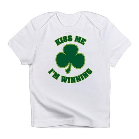 Kiss Me I'm Winning Infant T-Shirt