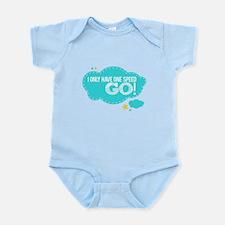 Funny I%27m bi winning Infant Bodysuit
