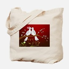 Cute Couples valentines Tote Bag