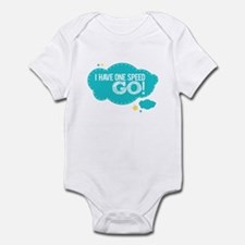 I Have One Speed Go! Infant Bodysuit