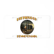 Pittsburgh Pennsylvania Aluminum License Plate