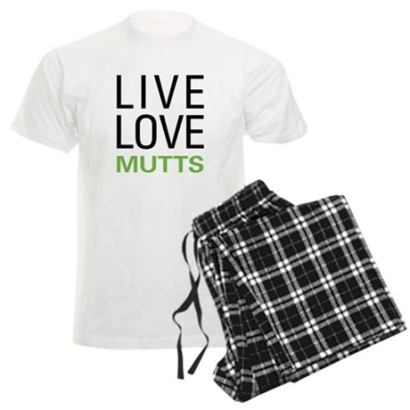 Live Love Mutts Men's Light Pajamas