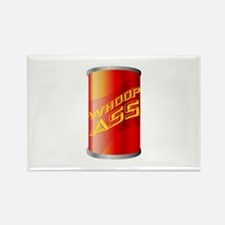 Can of Whoop Ass Rectangle Magnet