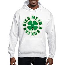 Kiss Me Im A Sox Fan Hoodie