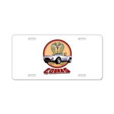 COBRAS Aluminum License Plate
