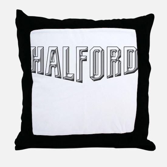 Halford Logo Throw Pillow