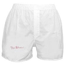 YAY! Boobies! Boxer Shorts