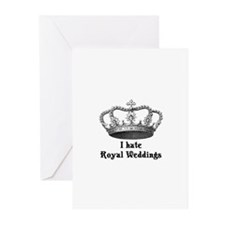 I Hate The Royal Wedding Greeting Cards (Pk of 20)