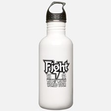 Fight War of Words 93 94 Worl Water Bottle