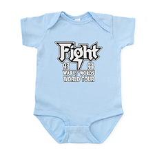Fight War of Words 93 94 Worl Infant Bodysuit