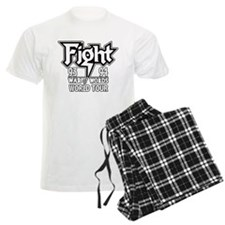 Fight War of Words 93 94 Worl Pajamas
