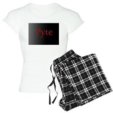 R.L. Mathewson's Pyte pajamas