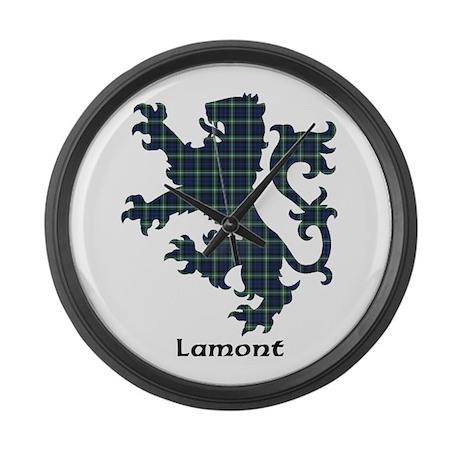 Lion - Lamont Large Wall Clock