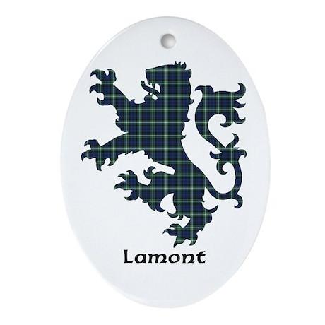 Lion - Lamont Ornament (Oval)