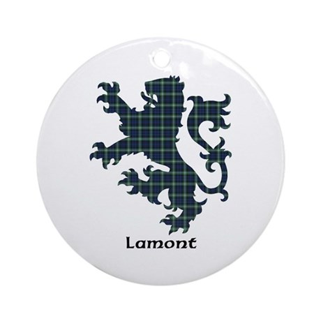 Lion - Lamont Ornament (Round)