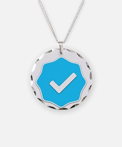 """Verified Account"" Necklace"