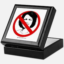 No Condoleezza Rice - Keepsake Box
