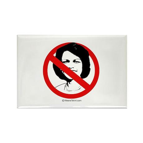 No Condoleezza Rice - Rectangle Magnet