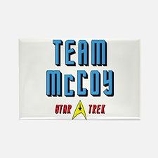 Team McCoy Star Trek Rectangle Magnet