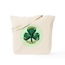 St.Patricks Day Shamrock Tote Bag