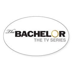 The Bachelor Sticker (Oval)