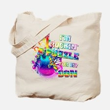 I'm Rockin' A Puzzle for my Son Tote Bag