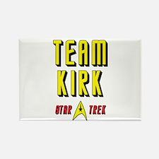 Team Kirk Star Trek Rectangle Magnet